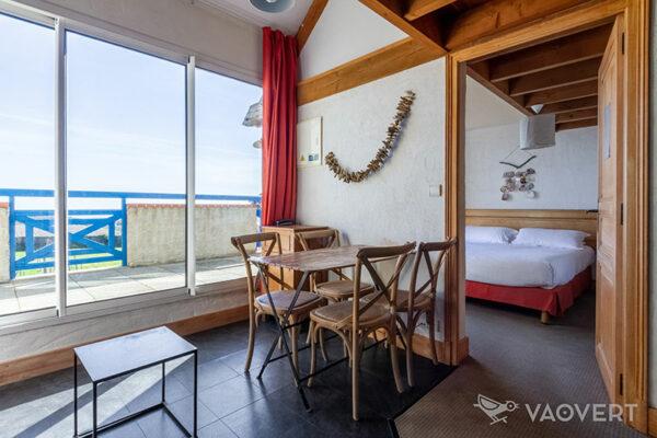 Appartement T3 vue mer - Pornic - Éco-Domaine La Fontaine