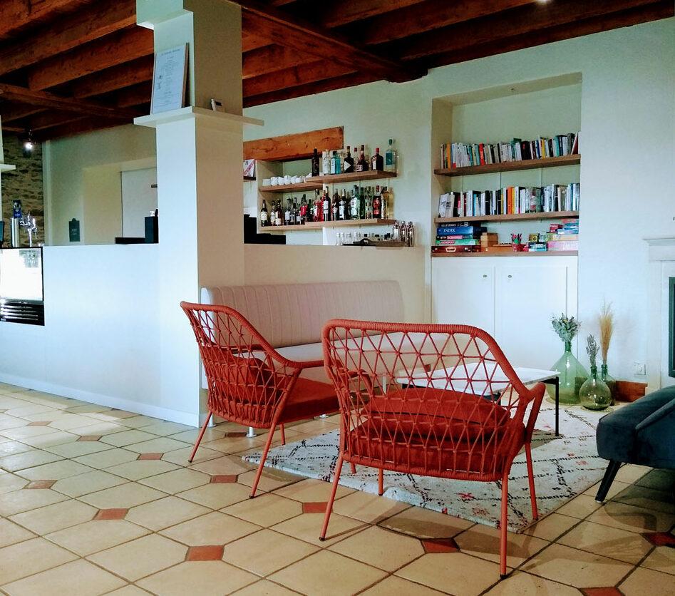 Salon de thé et bar - salon cosy